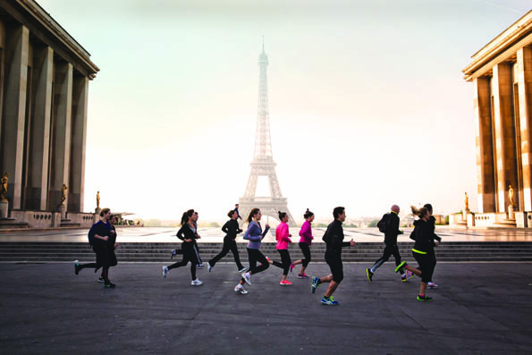 Four Seasons Hotel George V, Paris, morning run