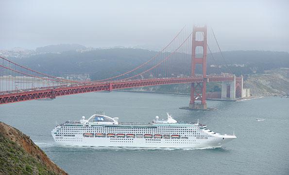 Cruise Ship Bay Area