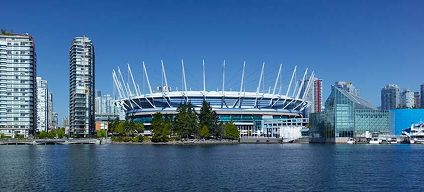 BC Place Stadium Events Venue