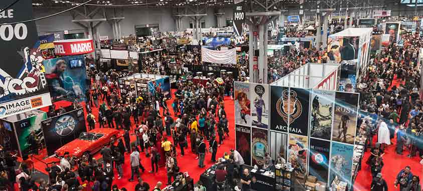 Comic Con and Other Comic Book Conventions