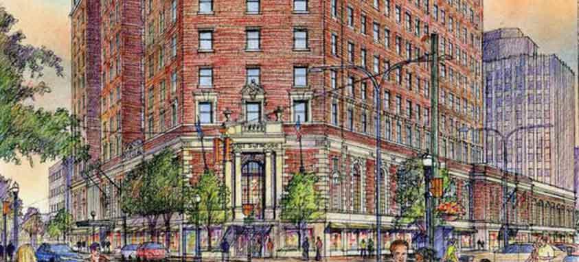 Marriott-Syracuse-Downtown,-exterior-rendering