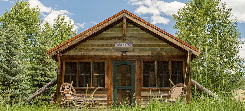 Canvas Cabin Exterior