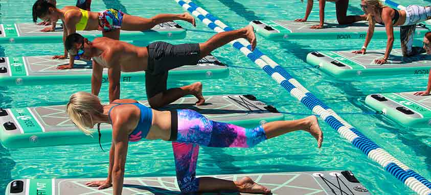 wacky water workouts