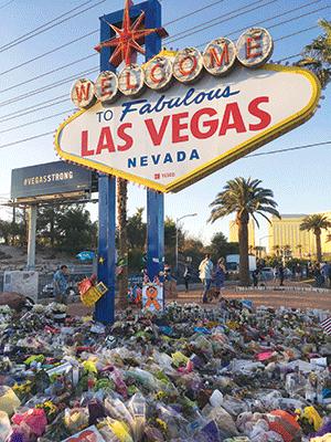 Las Vegas memorial for shooting victims