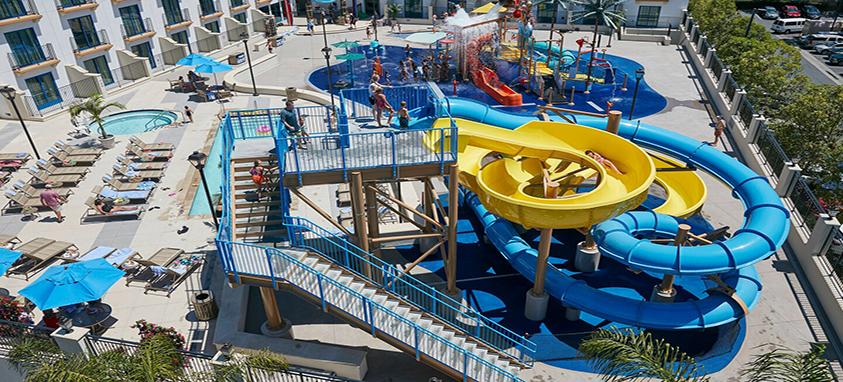Courtyard Anaheim Theme Park Entrance Waterpark