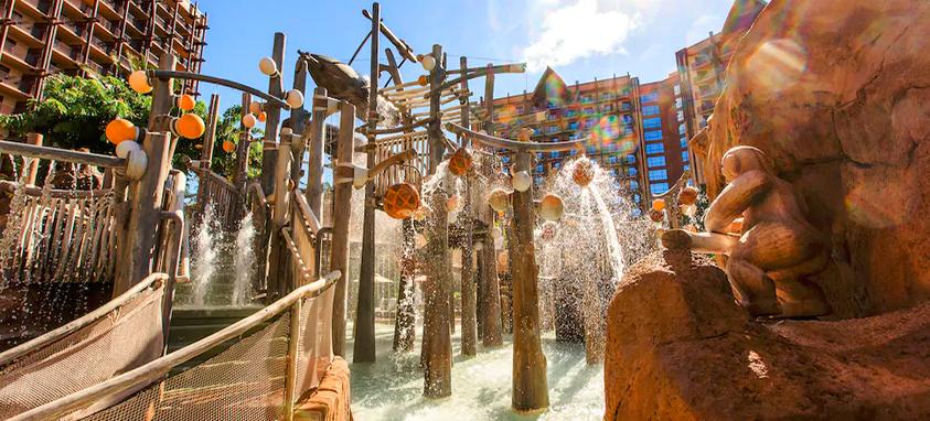 Aulani Disney Resort & Spa Menehune Bridge