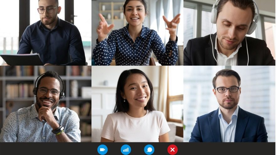 branded backgrounds for your online meetings